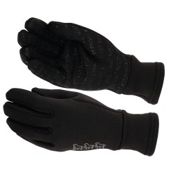 Equipage Fleeceglove with silicone grip