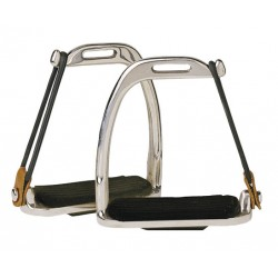 HG Safety Stirrup with rubber rings